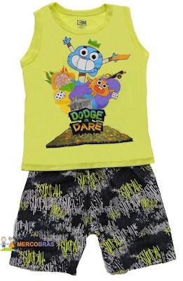 atacado de saldos e pontas de estoque de moda infantil da Marisol