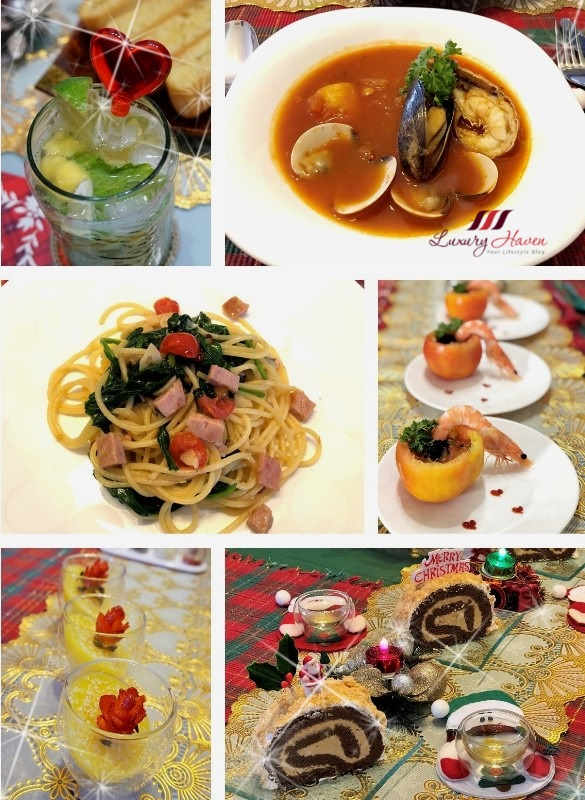 luxury haven lifestyle blog christmas lunch