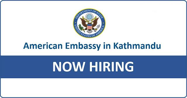 Job at US Embassy
