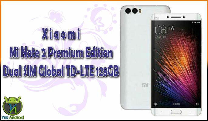 Xiaomi Mi Note 2 Premium Edition 128GB Specs Datasheet