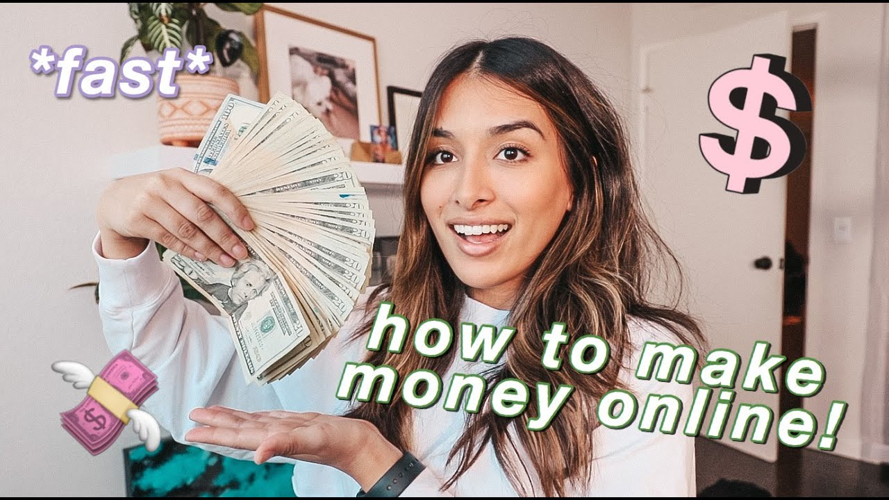 Make money online quick and easy, working at home, online trading EN