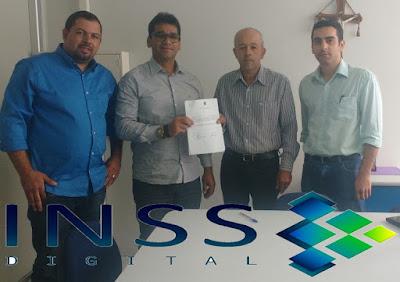 Prefeito assina convênio em Garanhuns, e  Tupanatinga entra na lista das cidades  com agência do INSS digital.