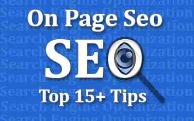 Top 15 On Page SEO Services For Google Blogger