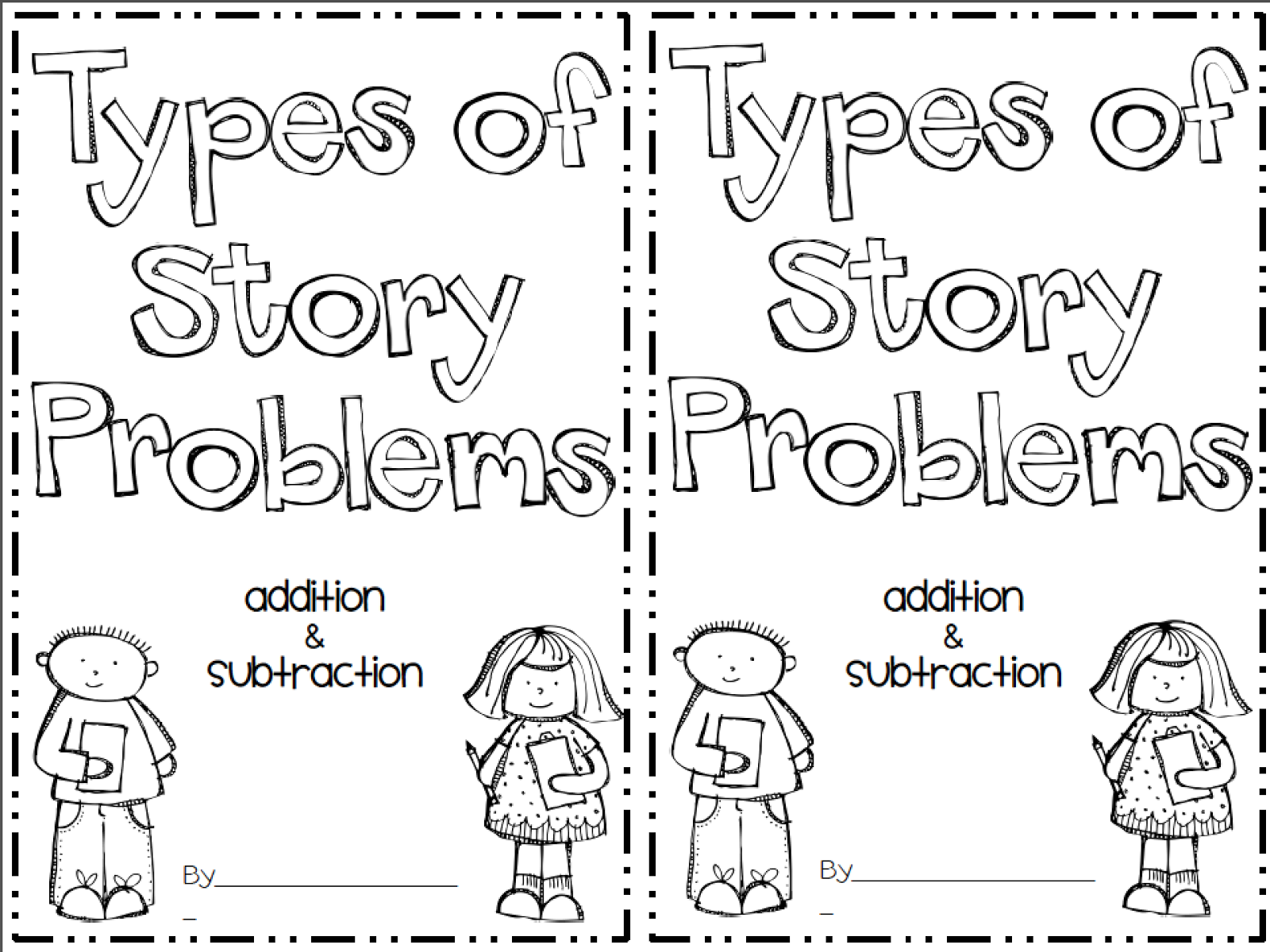 Math Problem Solving Worksheets For 1st Grade Education