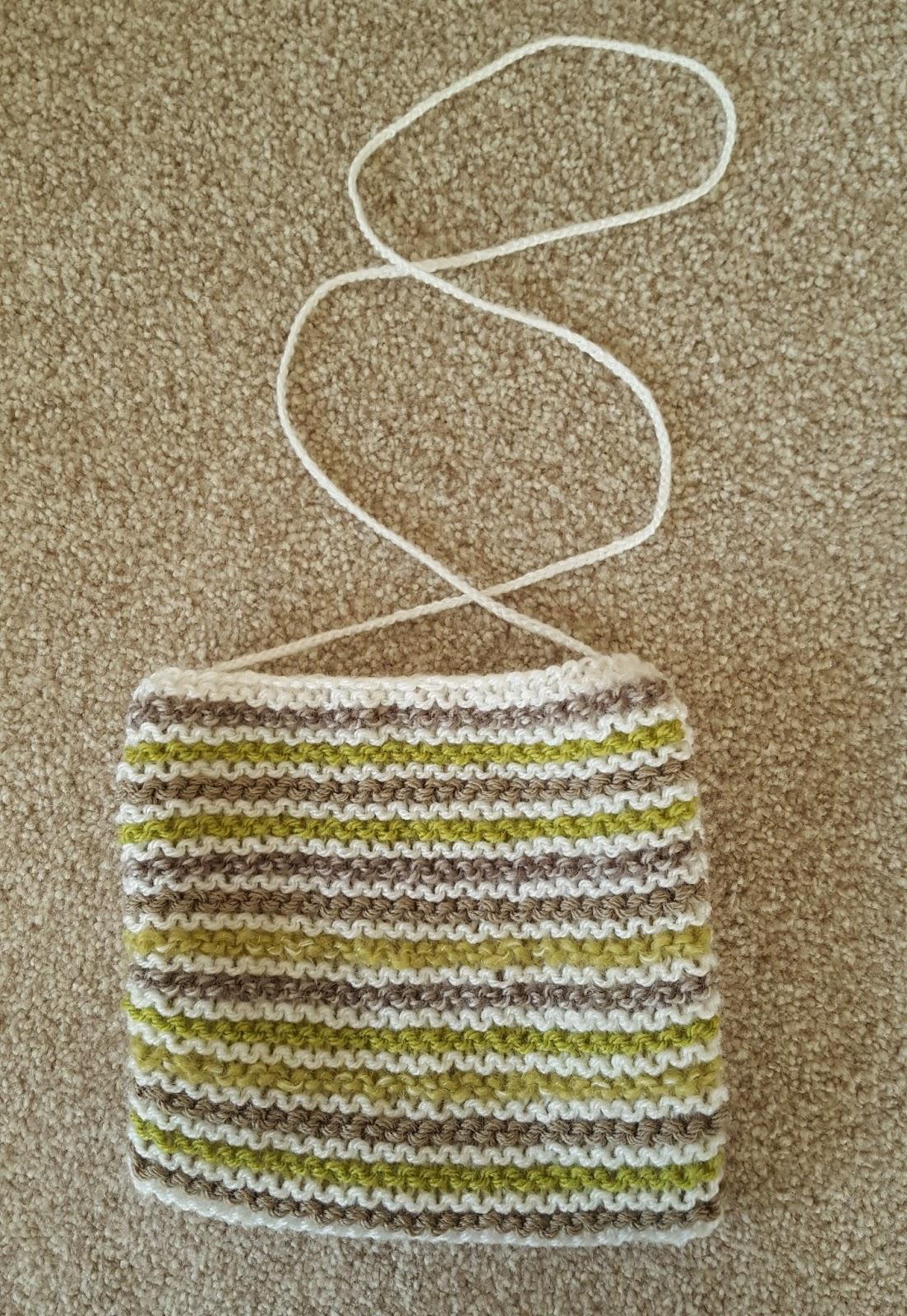 how to make a knitting bag
