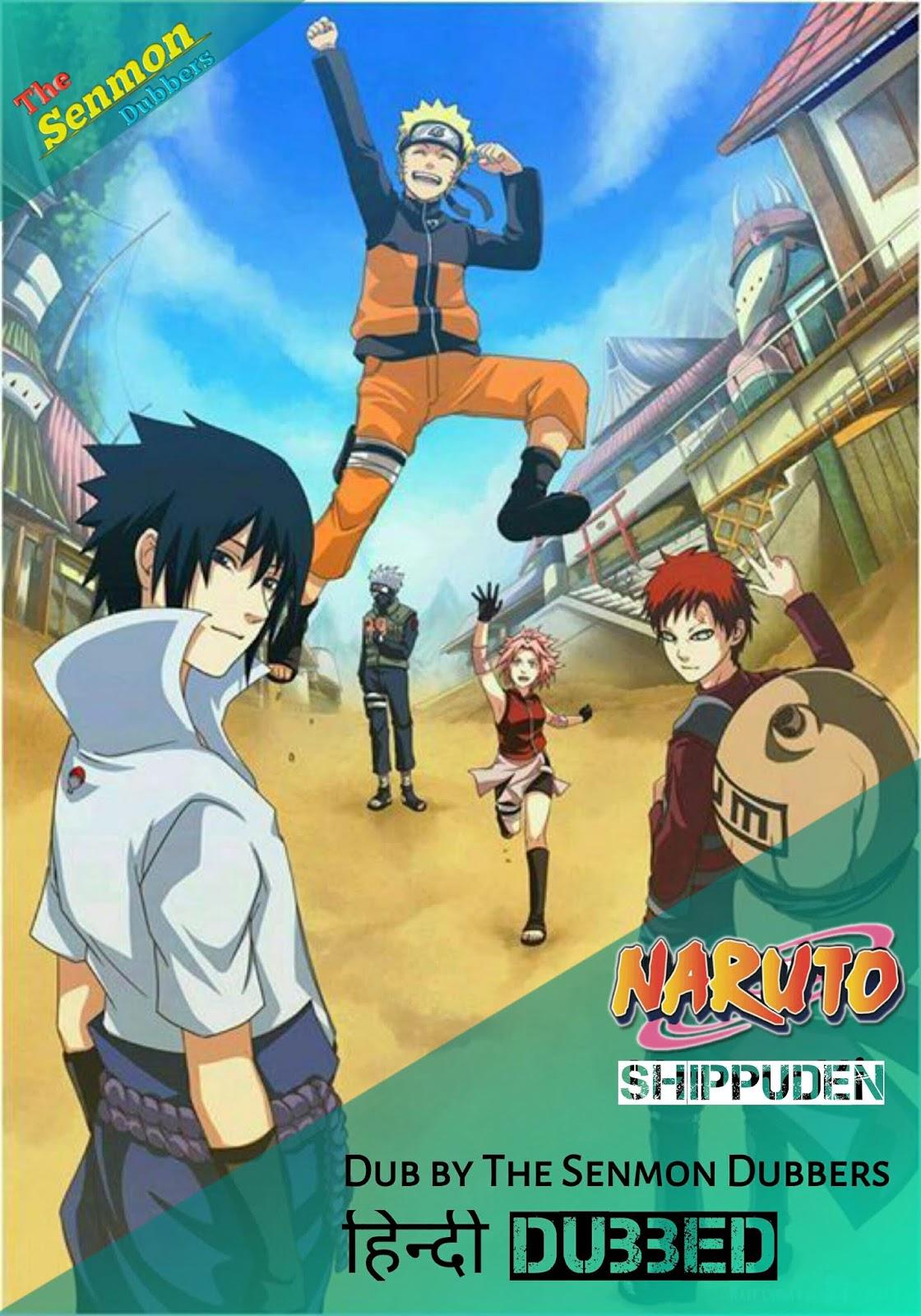 Naruto Shippuden Hindi Dubbed Episodes
