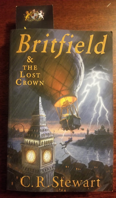 Britfield & the Lost Crown (A Homeschool Coffee Break Book Review) on kympossibleblog.blogspot.com