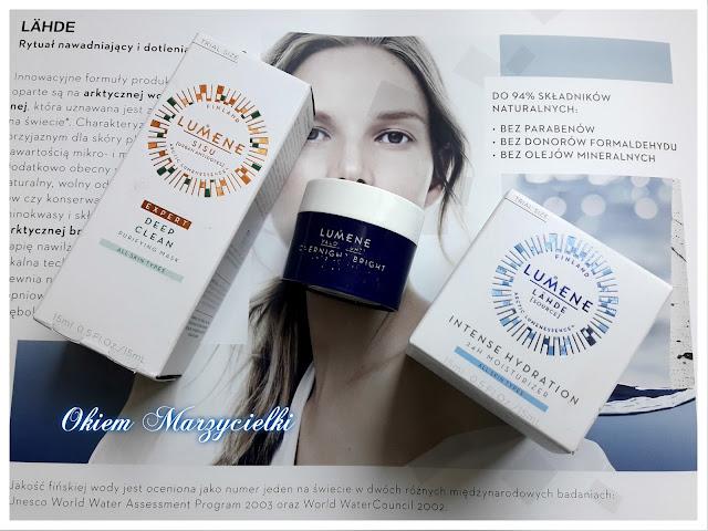 Moje pierwsze spotkanie z marką Lumene czyli piękno zrodzone w blasku arktycznego światła- prezentacja marki oraz trzech miniaturek-mini recenzje