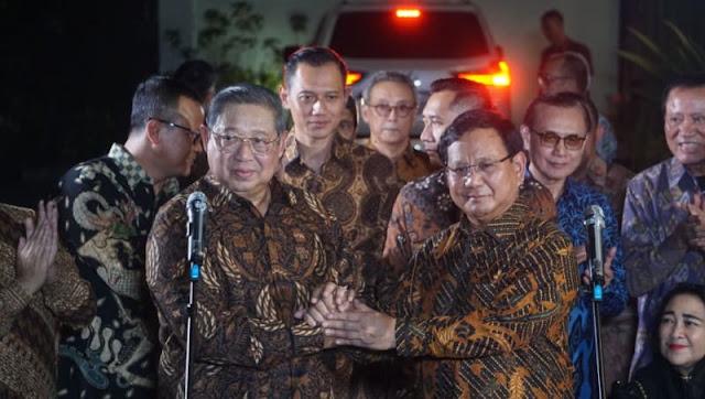 SBY Tidak Ingin Dikte Cawapres Prabowo