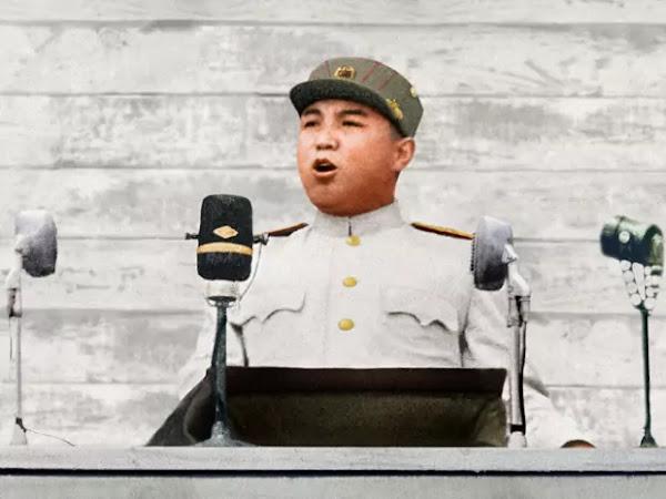 kim il sung war victory speech, july 28, 1953