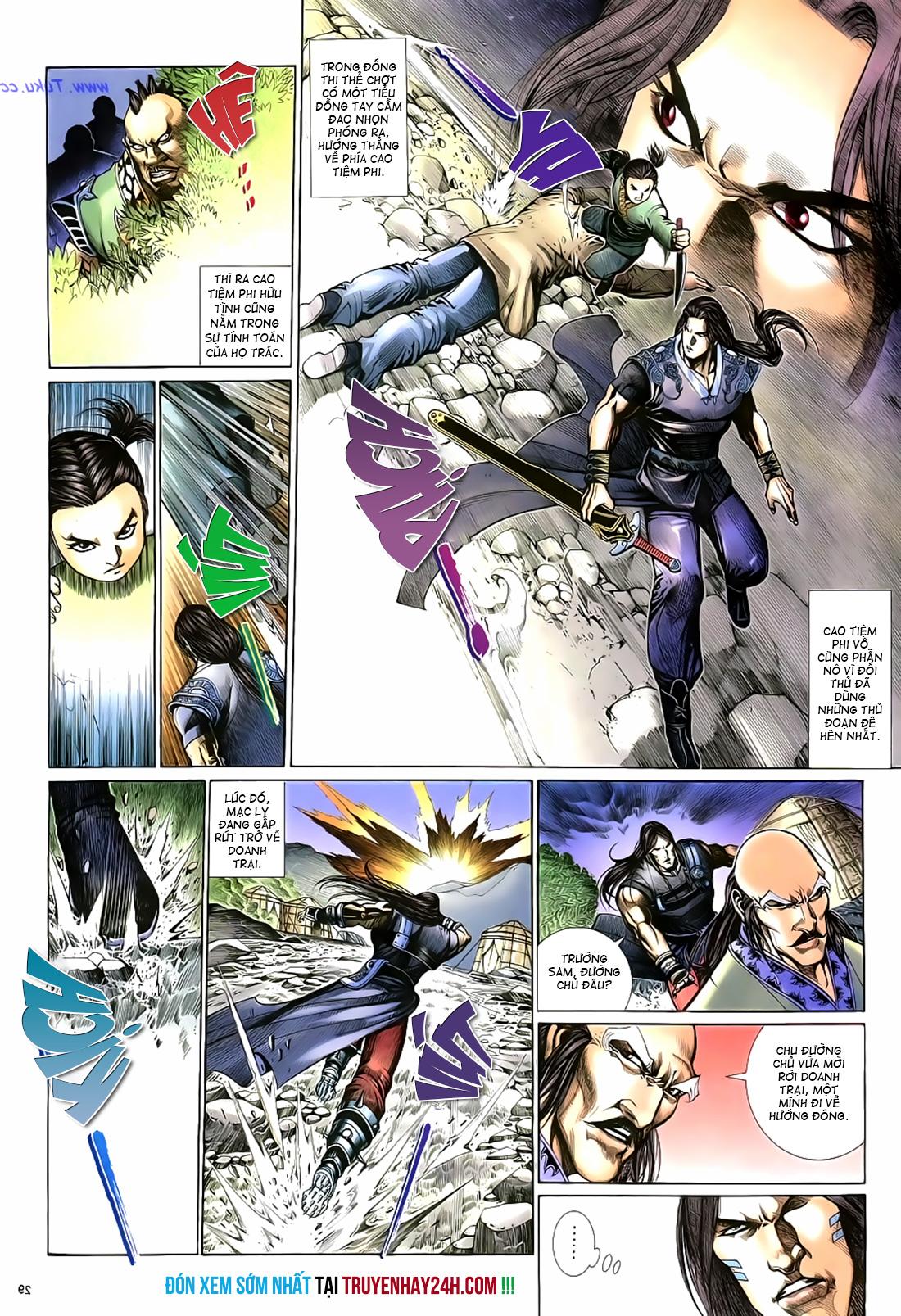 Anh hùng vô lệ Chap 17 trang 30