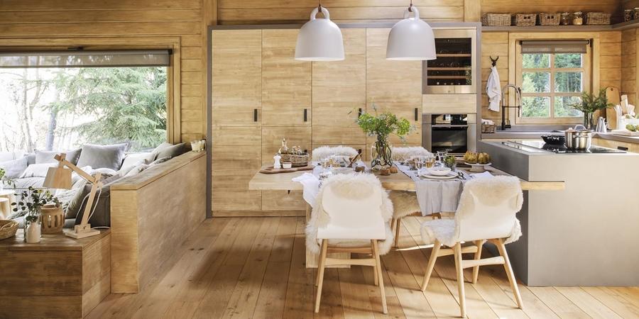 wystrój wnętrz, wnętrza, urządzanie mieszkania, dom, home decor, dekoracje, aranżacje, drewniany dom, drewno, eco, ekolodiczny, naturalny, cozy home, styl skandynawski, scandinavian style, otwarta przestrzeń, salon, living room, kuchnia, kitchen, jadalnia, wyspa kuchenna