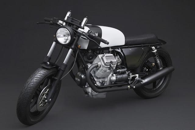 Moto Guzzi V75 1989 By Venier Customs Hell Kustom