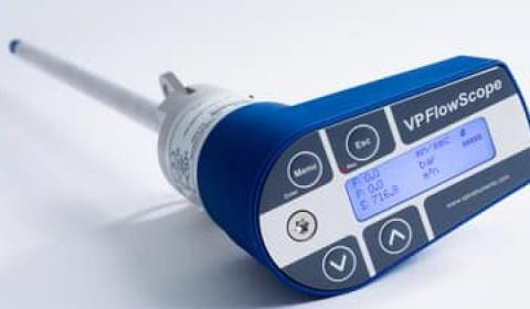 VP Instruments Compressed air flow meters