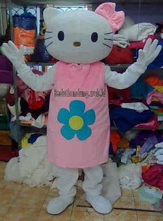 hello kity, kostum hello kity pink