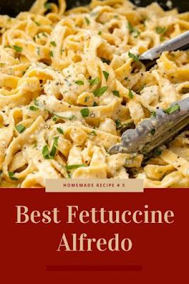 Fettuccine Alfredo Recipe Idea