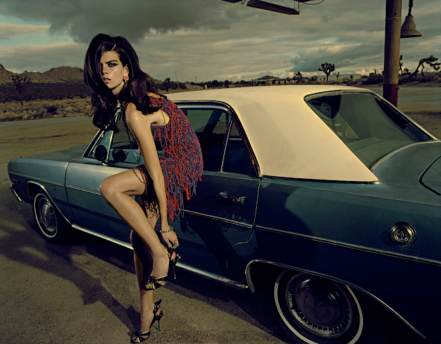 """Another day in Paradise"" Alexandra Tomlinson. Palmdale 2011 (California) © Jacques Olivar"
