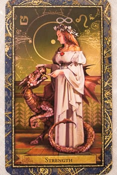 Wizards Tarot - Mother Tarot - Strength