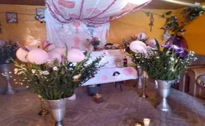 ataúd, flores, servicio,