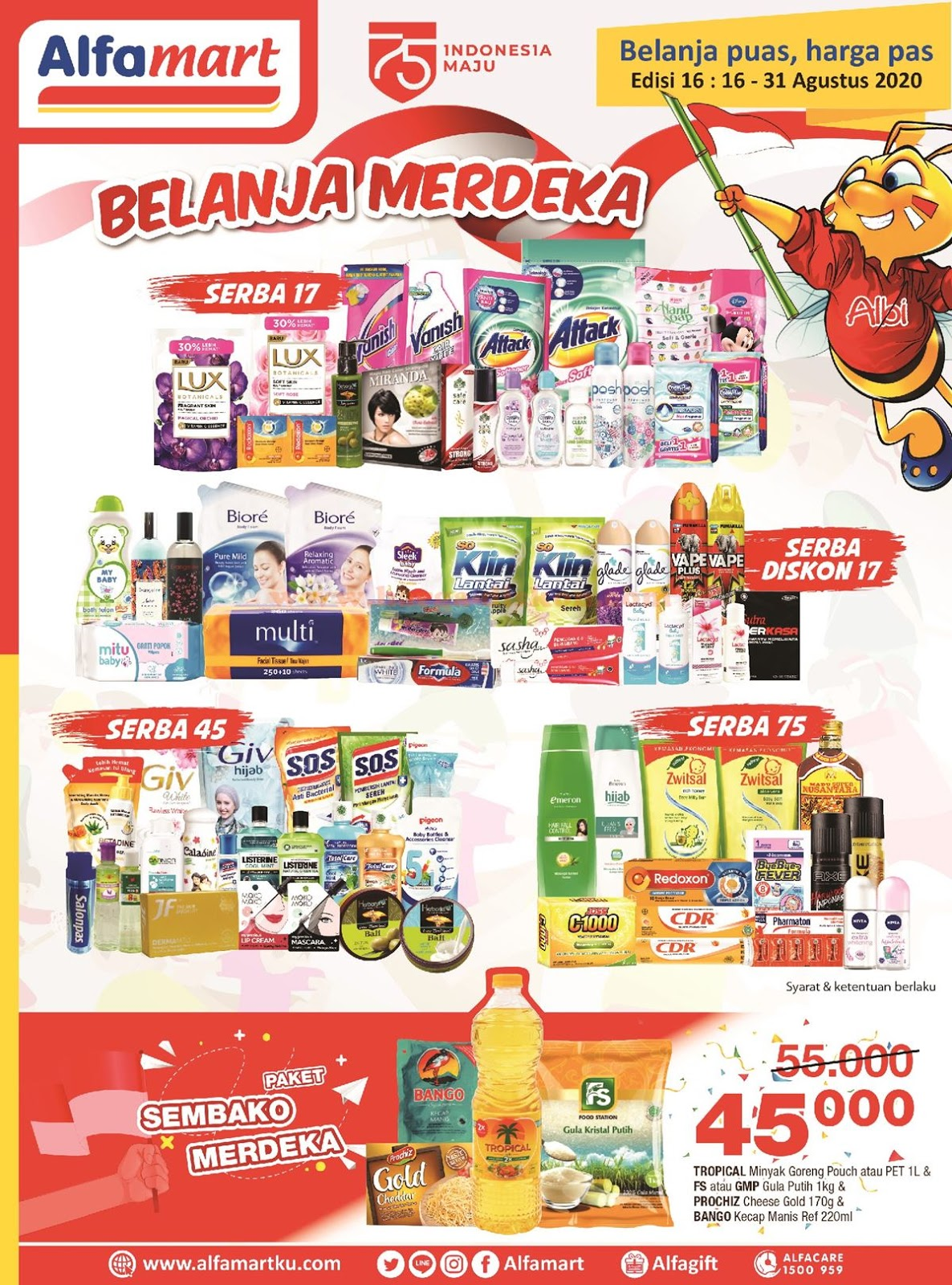 Katalog Promo Alfamart Terbaru 16 31 Agustus 2020 Beureum
