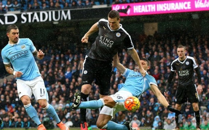 Highlights Manchester City vs Leicester City Score 1-3