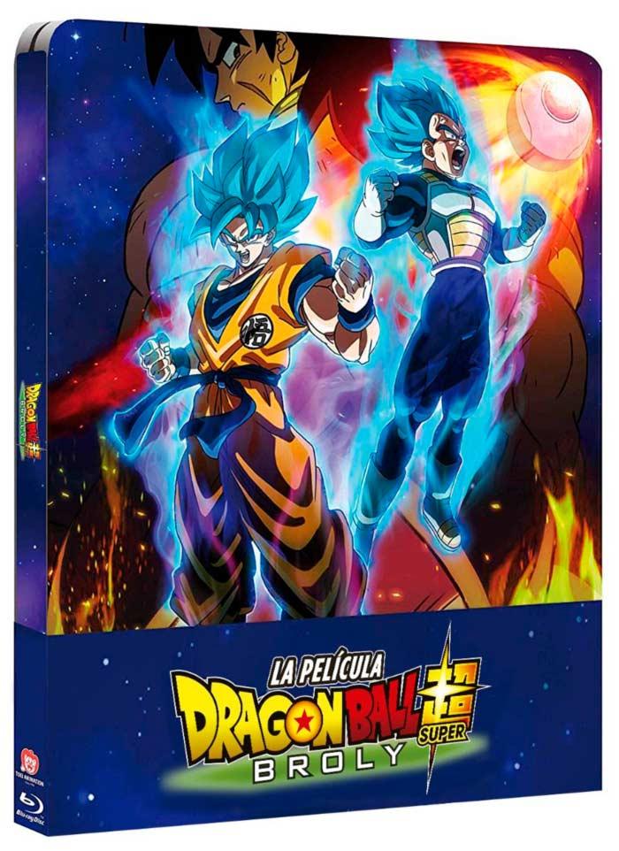 Dragon Ball Super: Broly - Edición Metálica Blu-ray - Selecta Visión