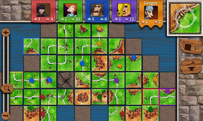 El juego Carcassonne en el móvil