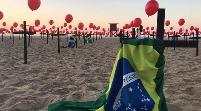 Brasil supera las 400.000 muertes por covid