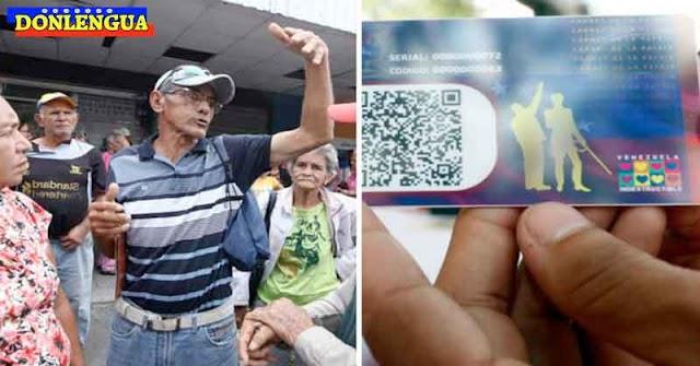 Régimen exigirá presentar en Carnet de la Patria Chavista para poder ser vacunados
