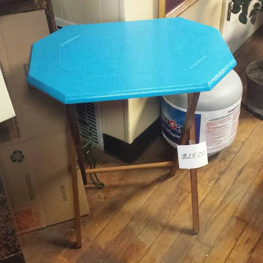 Frugal Fortune Vintage Aqua And Blue Furniture And Home