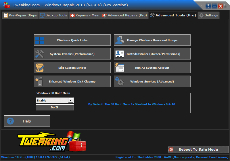 Download Windows Repair PRO v4.4.6 Full version