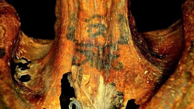 Múmia com tatuagens/Reprodução