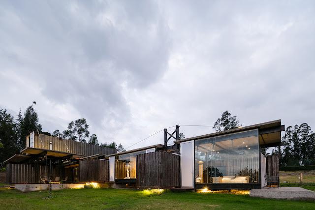 Casa RDP - Shipping Container Industrial Style House, Ecuador 1