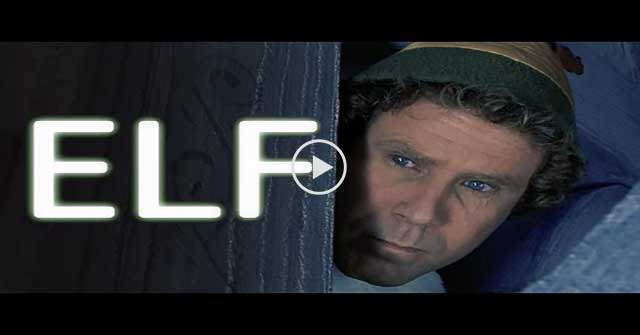 Elf Recut As A Creepy Thriller Movie Trailer.