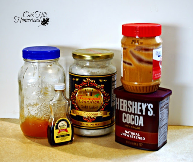 Chocolate peanut butter candy ingredients