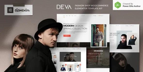 Best Fashion Store WooCommerce Elementor Template Kit