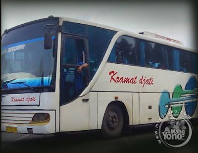 Bus Kramat Djati AC Subang - Kp. Rambutan