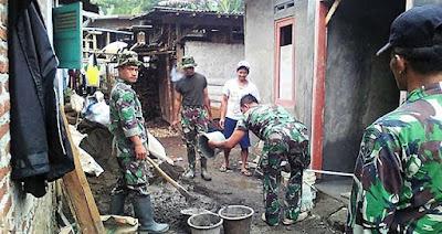 Direhab TNI, Rumah Narpin Jadi Layak Huni