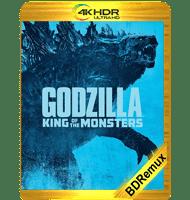 GODZILLA II: EL REY DE LOS MONSTRUOS (2019) BDREMUX 2160P HDR MKV ESPAÑOL LATINO