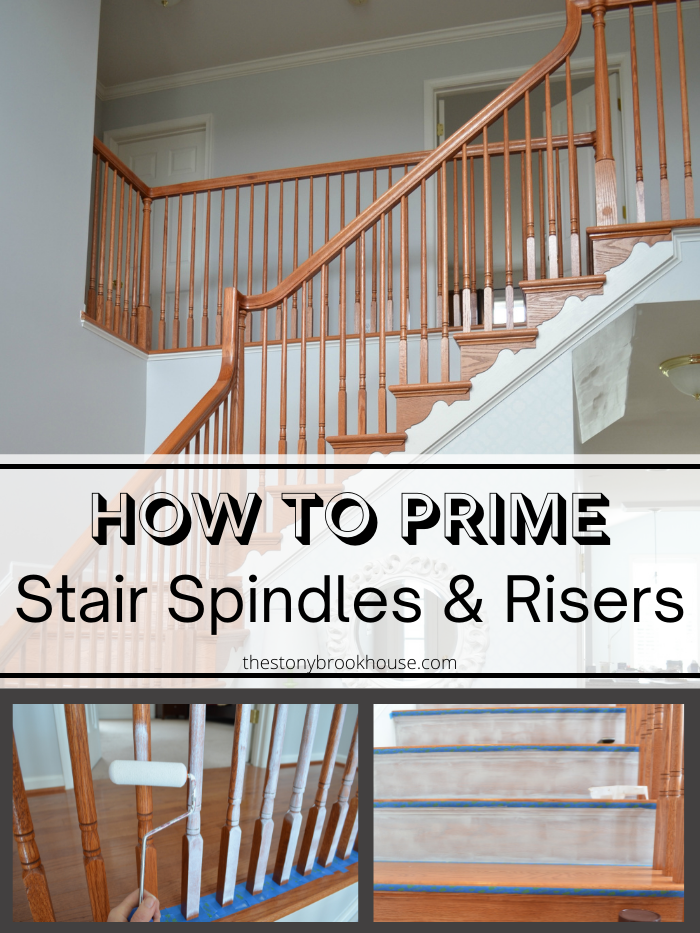 How To Prime Stair Spindles & Risers