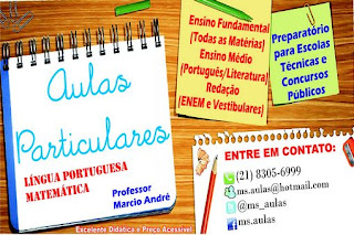 Panfleto aulas particulares