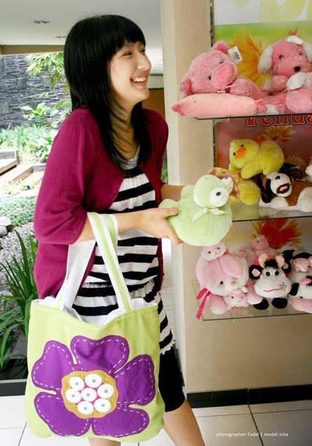 Cata Bikin Tas Cantik Untuk Wanita Trendy