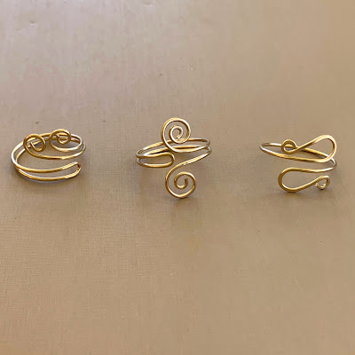 Wire Rings, Free Tutorials by Lisa Yang Jewelry