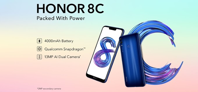 موبايل Honor 8C بسعر 2500 جنيه على جوميا مصر