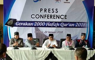 Bank Nagari,Gelar Gerakan 2000 Hafizh Quran di Sumatera Barat