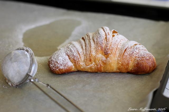 croissant come quelli del bar ricetta