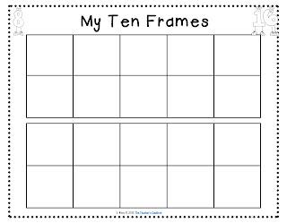 Apples, ice cream, ten frames (freebie!), and word walls ...