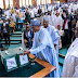 2019 Budget Was Presented By President Buhari At The Notional Assembly