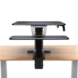 Clamp On Sit To Stand Desk Attachment
