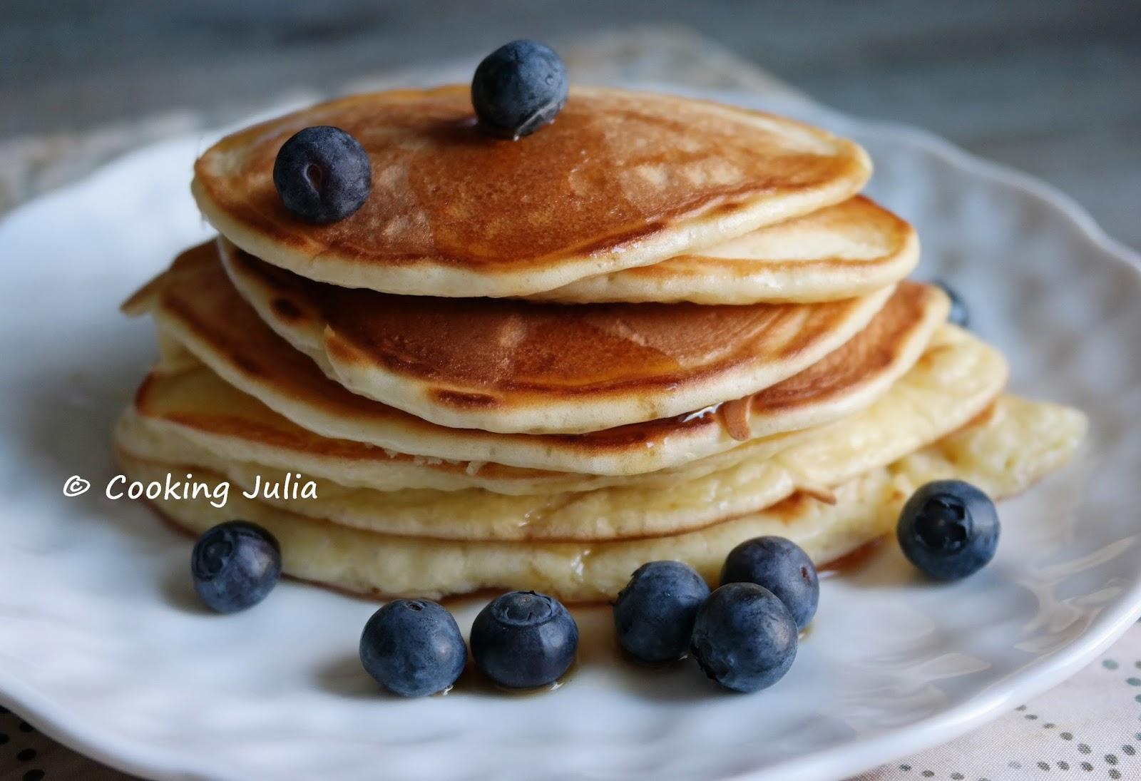 et dont l\u0027ingrédient principal est le yaourt à la grecque. Après les  buttermilk pancakes et les pancakes à deux ingrédients, voici donc une  nouvelle